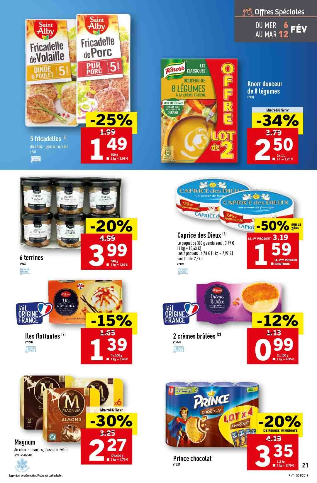 Catalogue Lidl - 06.02.2019 - 12.02.2019. Page 23.