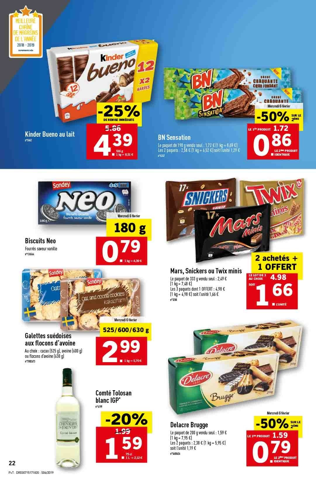 Catalogue Lidl - 06.02.2019 - 12.02.2019. Page 24.