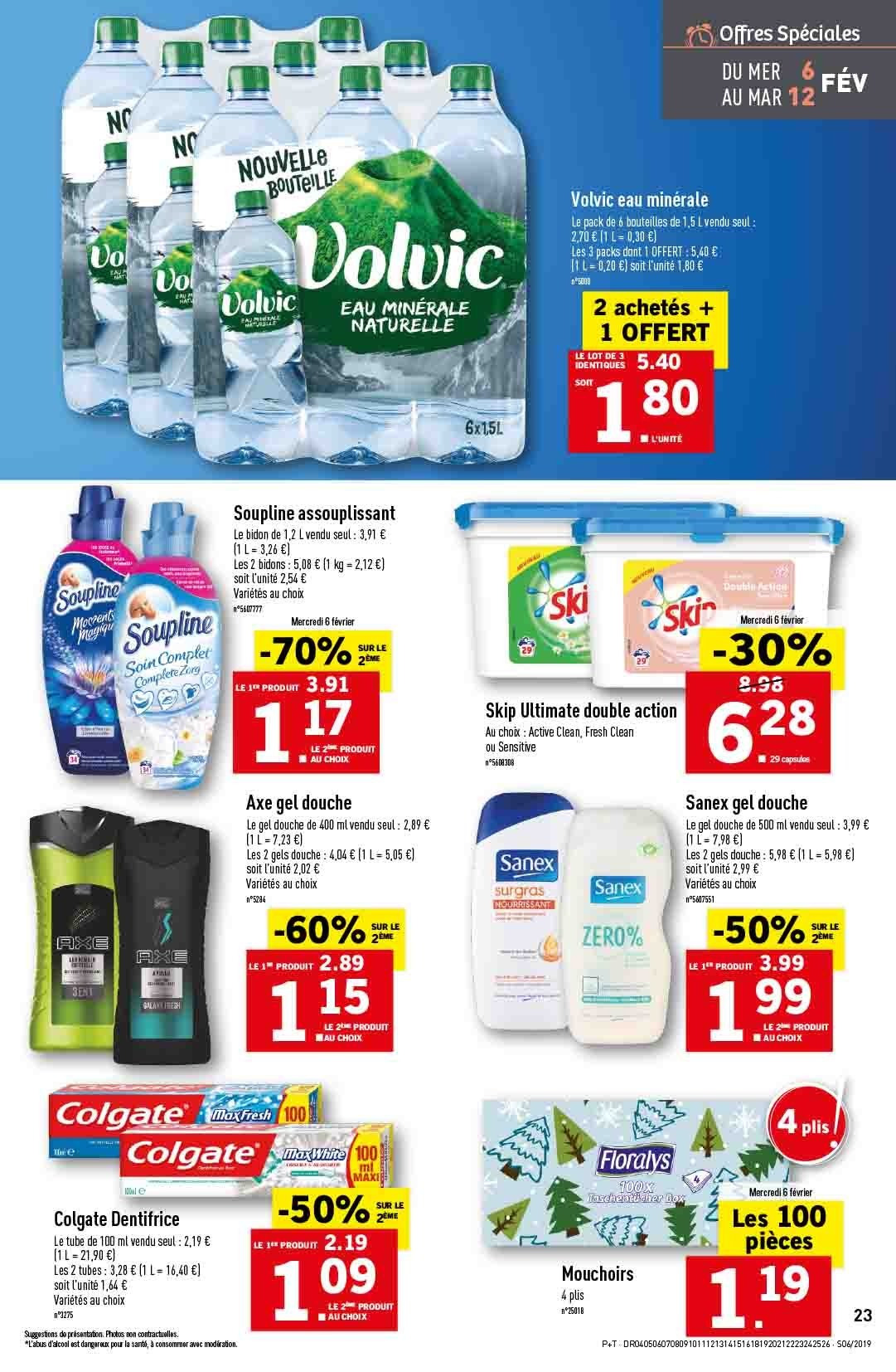 Catalogue Lidl - 06.02.2019 - 12.02.2019. Page 25.