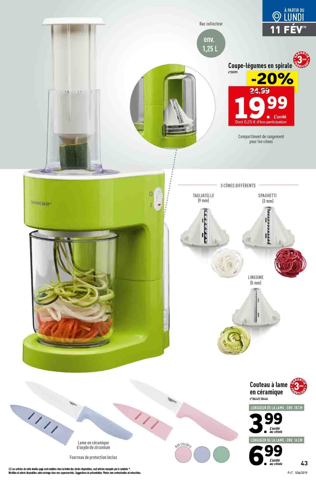 Catalogue Lidl - 06.02.2019 - 12.02.2019. Page 41.