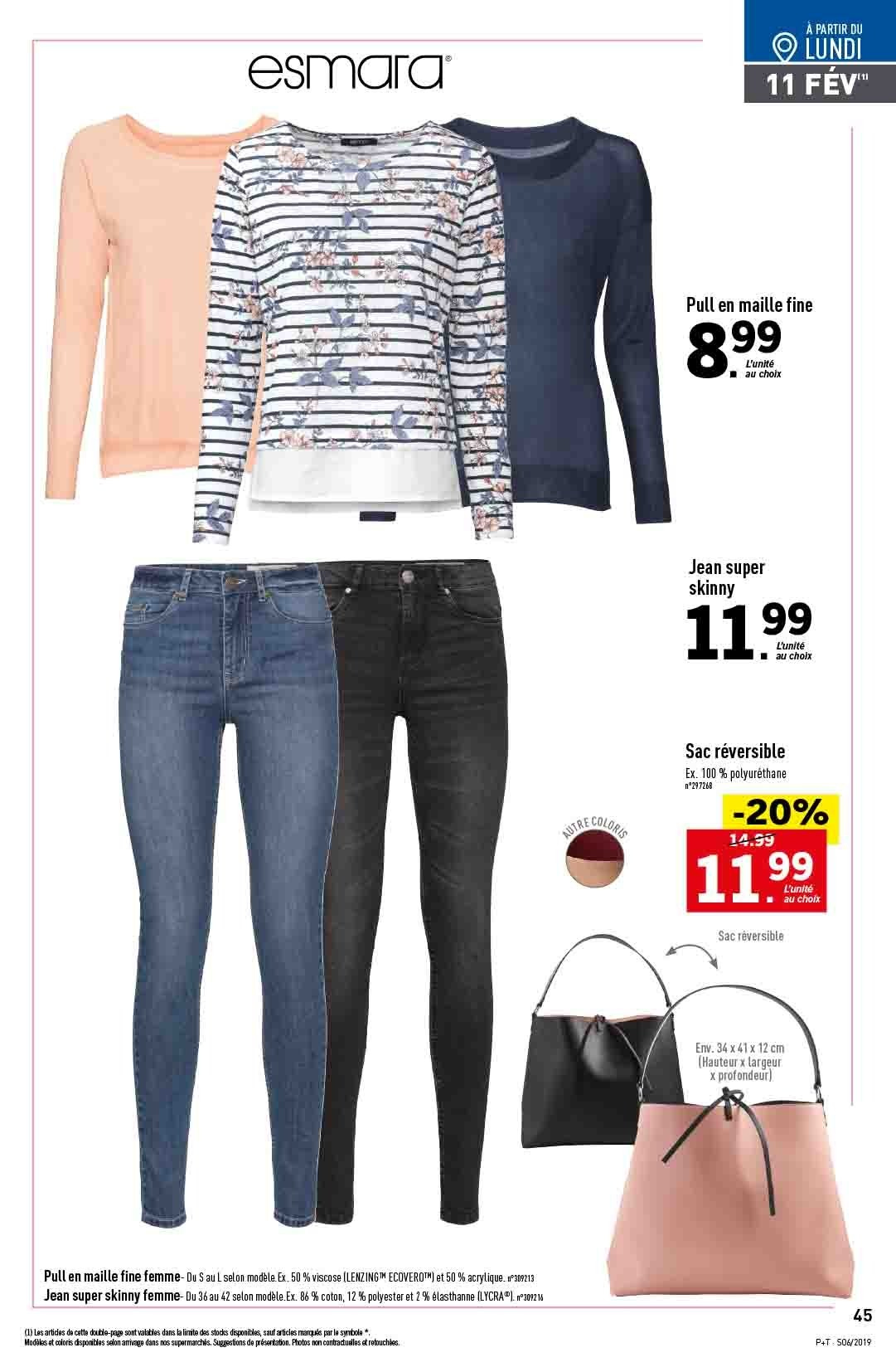Catalogue Lidl - 06.02.2019 - 12.02.2019. Page 43.