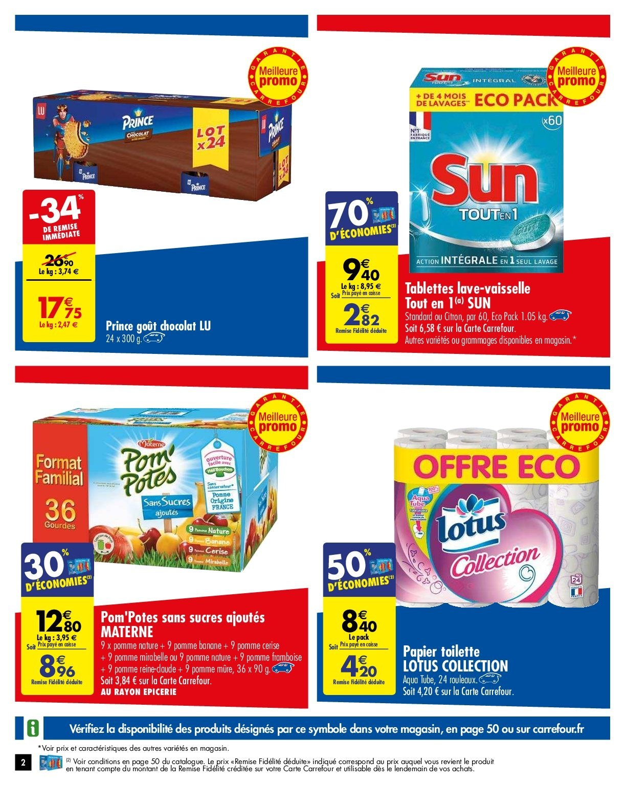 Catalogue Carrefour - 05.02.2019 - 11.02.2019. Page 2.