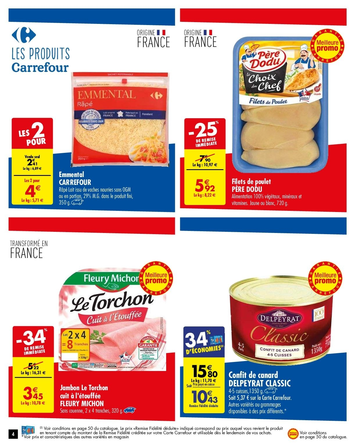 Catalogue Carrefour - 05.02.2019 - 11.02.2019. Page 4.