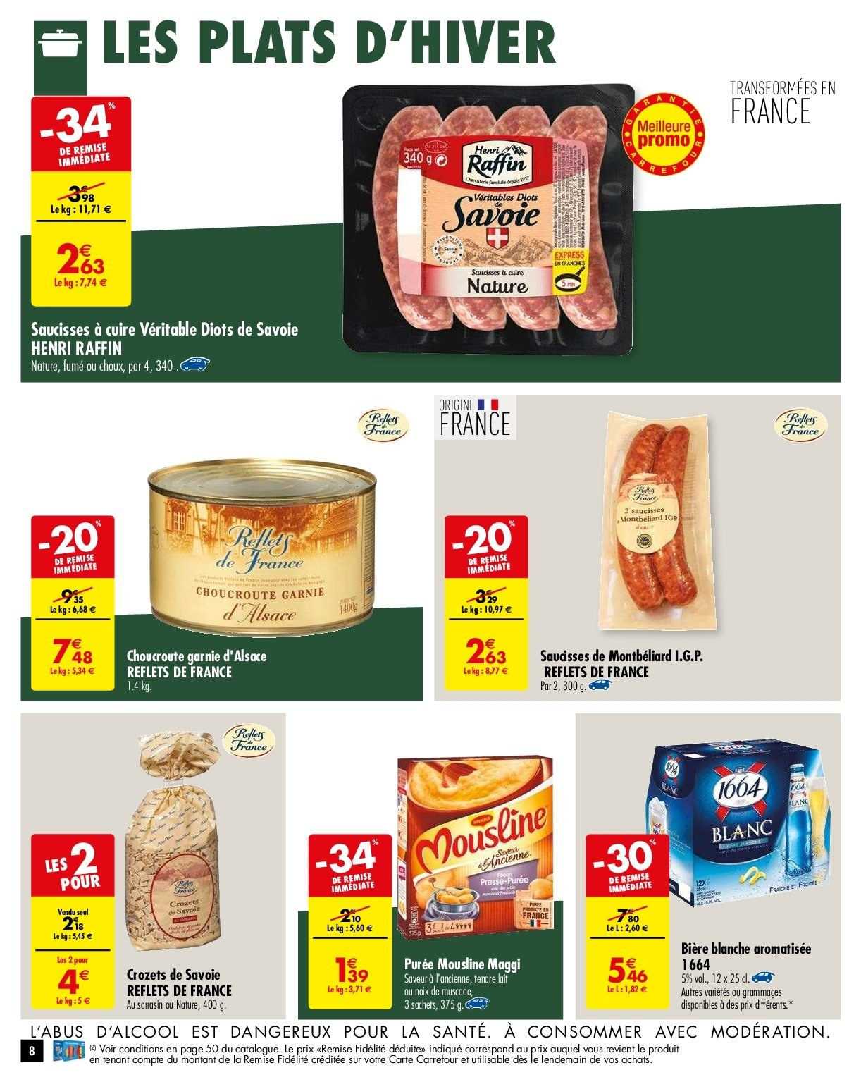 Catalogue Carrefour - 05.02.2019 - 11.02.2019. Page 8.