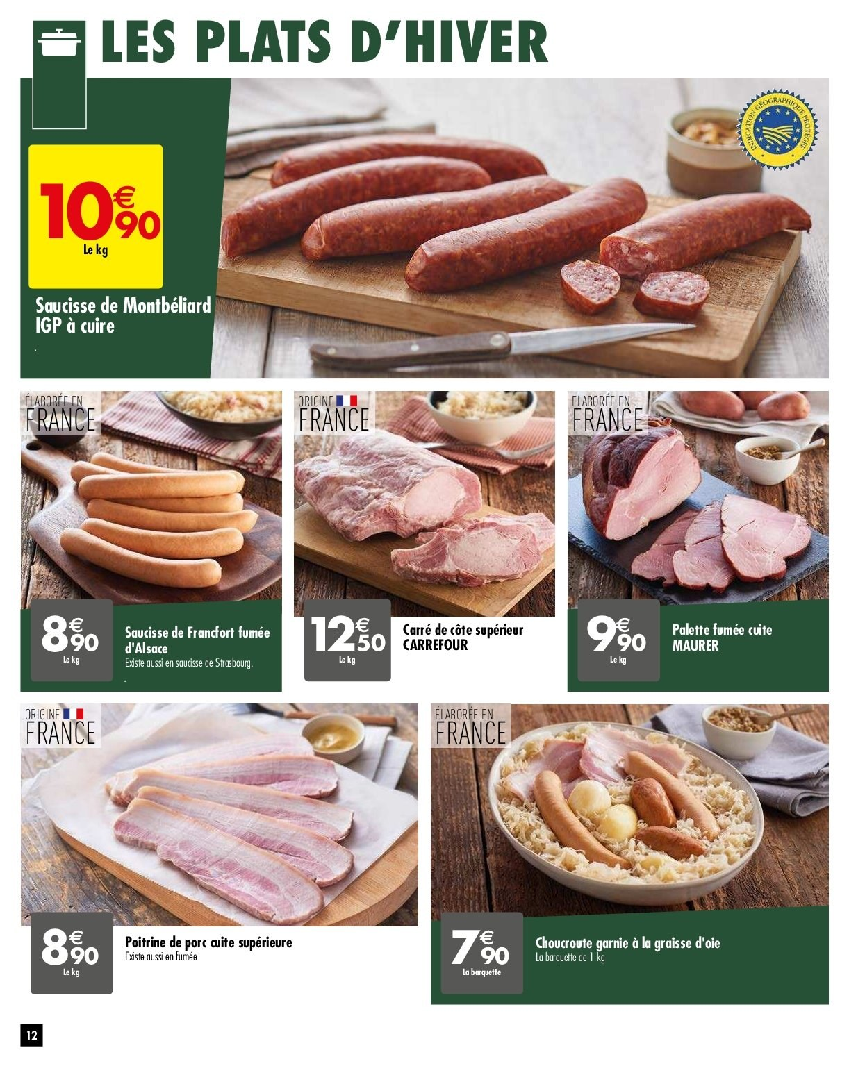 Catalogue Carrefour - 05.02.2019 - 11.02.2019. Page 12.