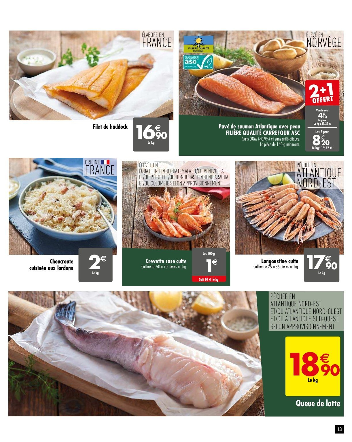 Catalogue Carrefour - 05.02.2019 - 11.02.2019. Page 13.