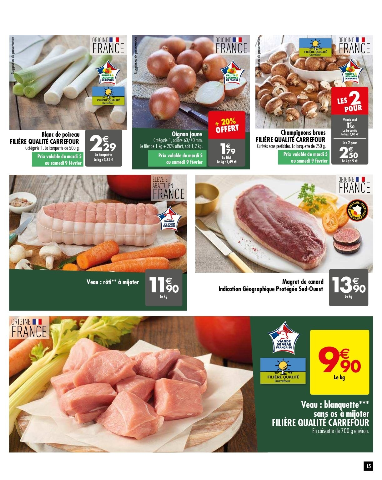 Catalogue Carrefour - 05.02.2019 - 11.02.2019. Page 15.