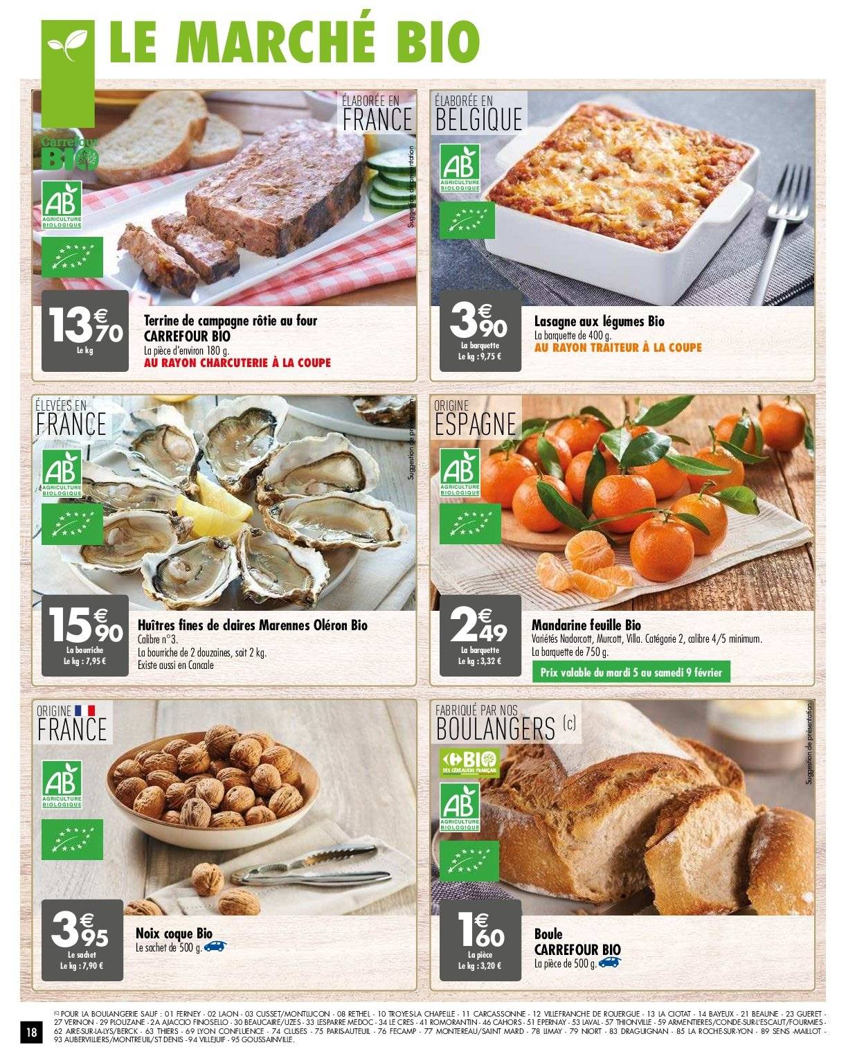 Catalogue Carrefour - 05.02.2019 - 11.02.2019. Page 18.