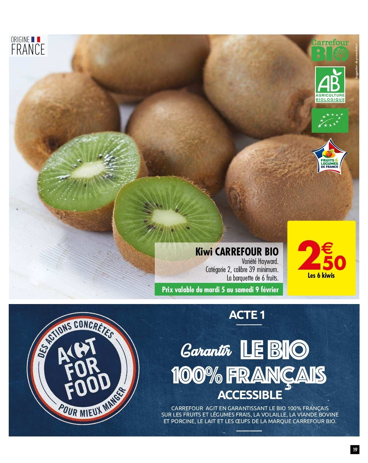 Catalogue Carrefour - 05.02.2019 - 11.02.2019. Page 19.