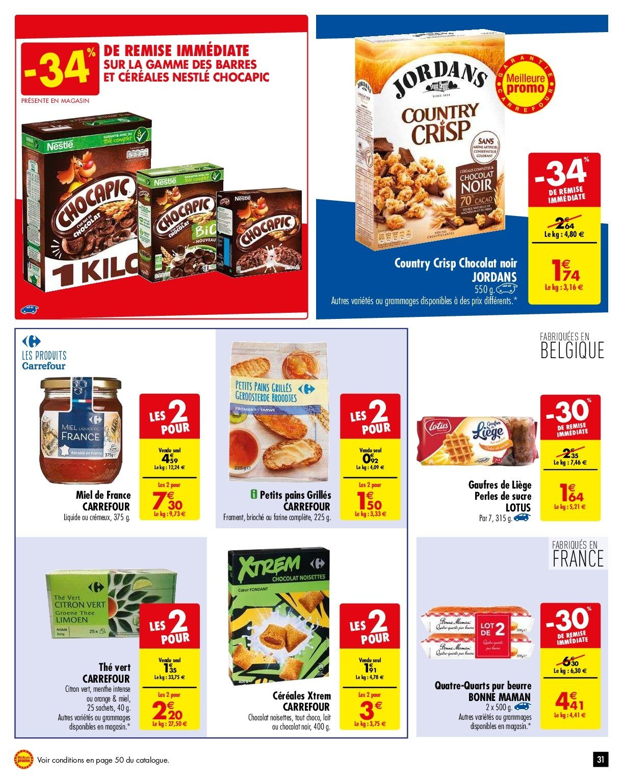 Catalogue Carrefour - 05.02.2019 - 11.02.2019. Page 34.