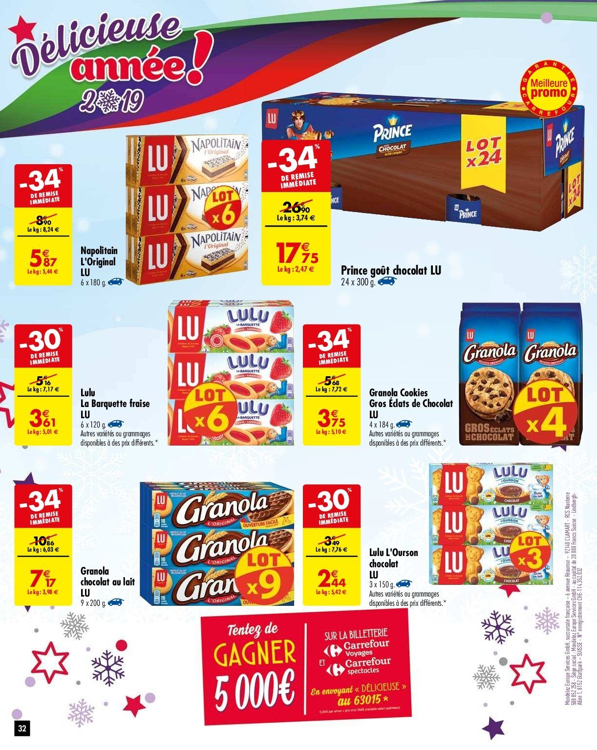 Catalogue Carrefour - 05.02.2019 - 11.02.2019. Page 35.
