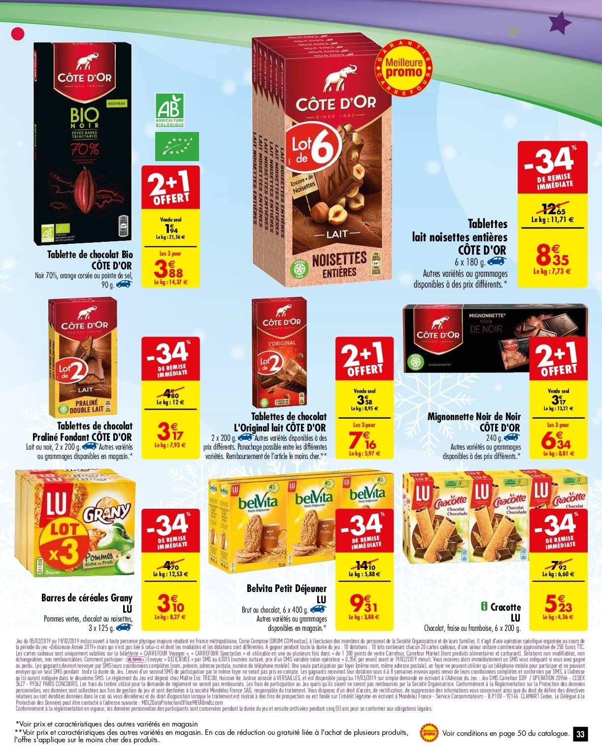 Catalogue Carrefour - 05.02.2019 - 11.02.2019. Page 36.