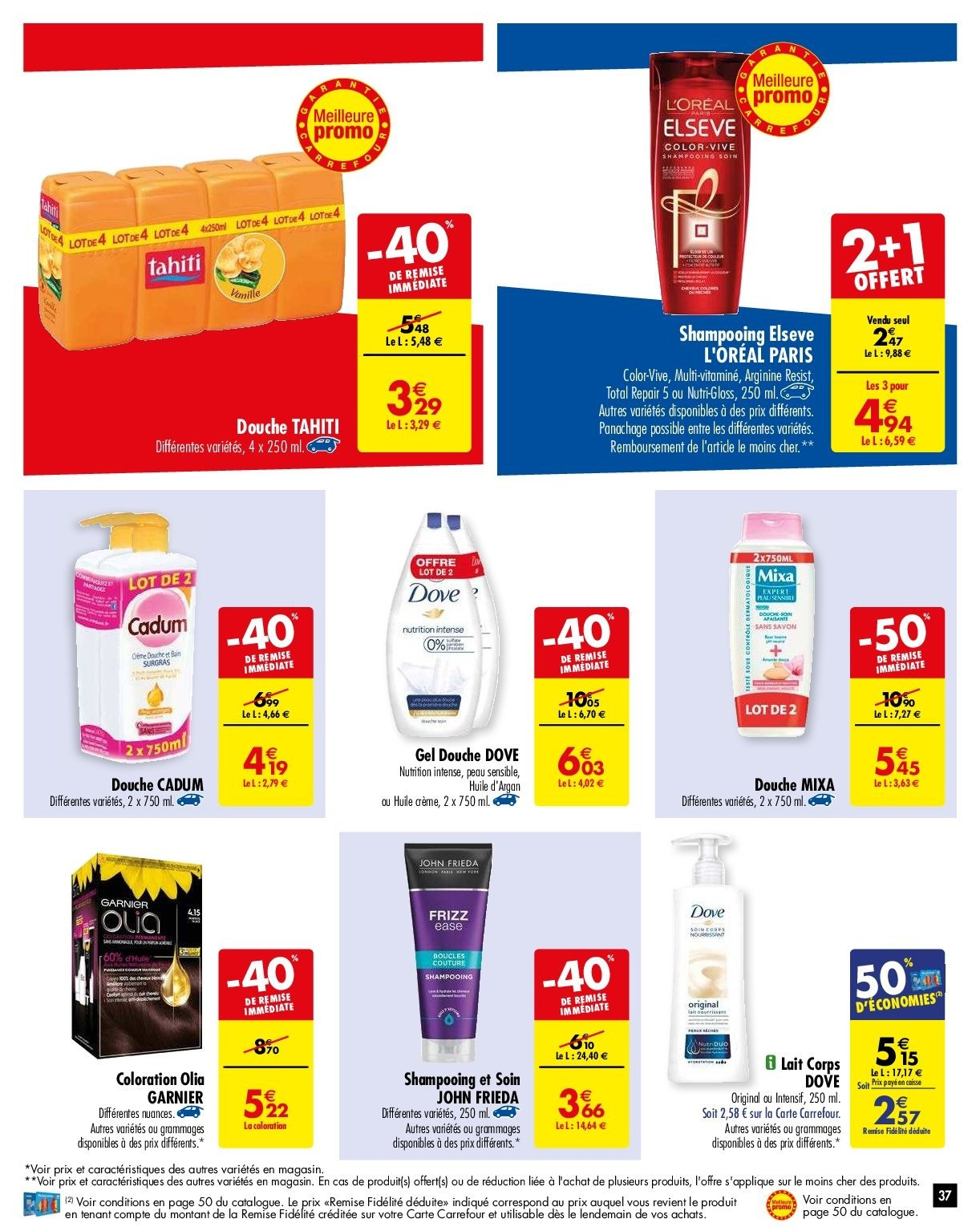 Catalogue Carrefour - 05.02.2019 - 11.02.2019. Page 40.