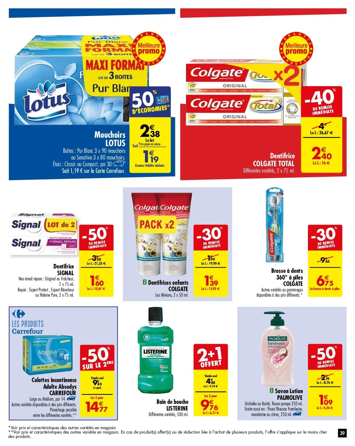 Catalogue Carrefour - 05.02.2019 - 11.02.2019. Page 42.