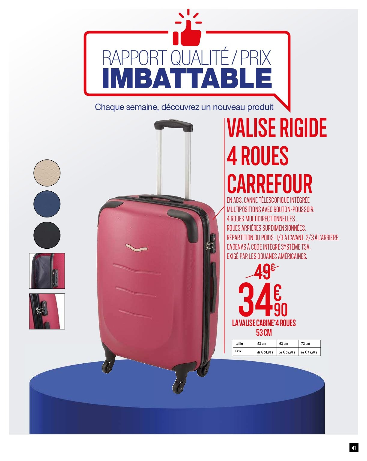 Catalogue Carrefour - 05.02.2019 - 11.02.2019. Page 44.