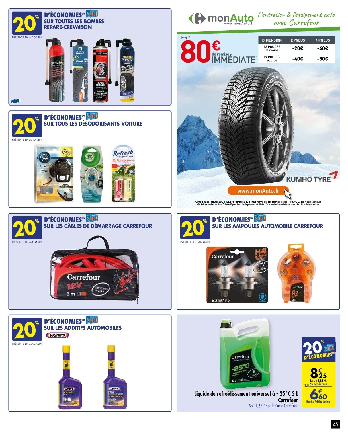 Catalogue Carrefour - 05.02.2019 - 11.02.2019. Page 48.