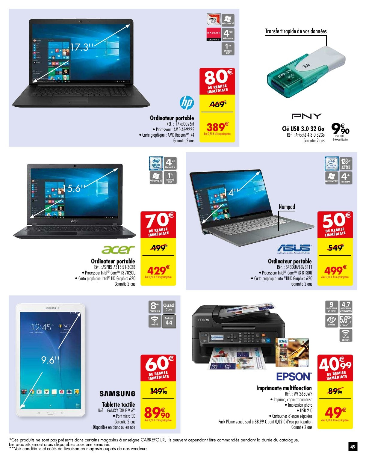 Catalogue Carrefour - 05.02.2019 - 11.02.2019. Page 52.