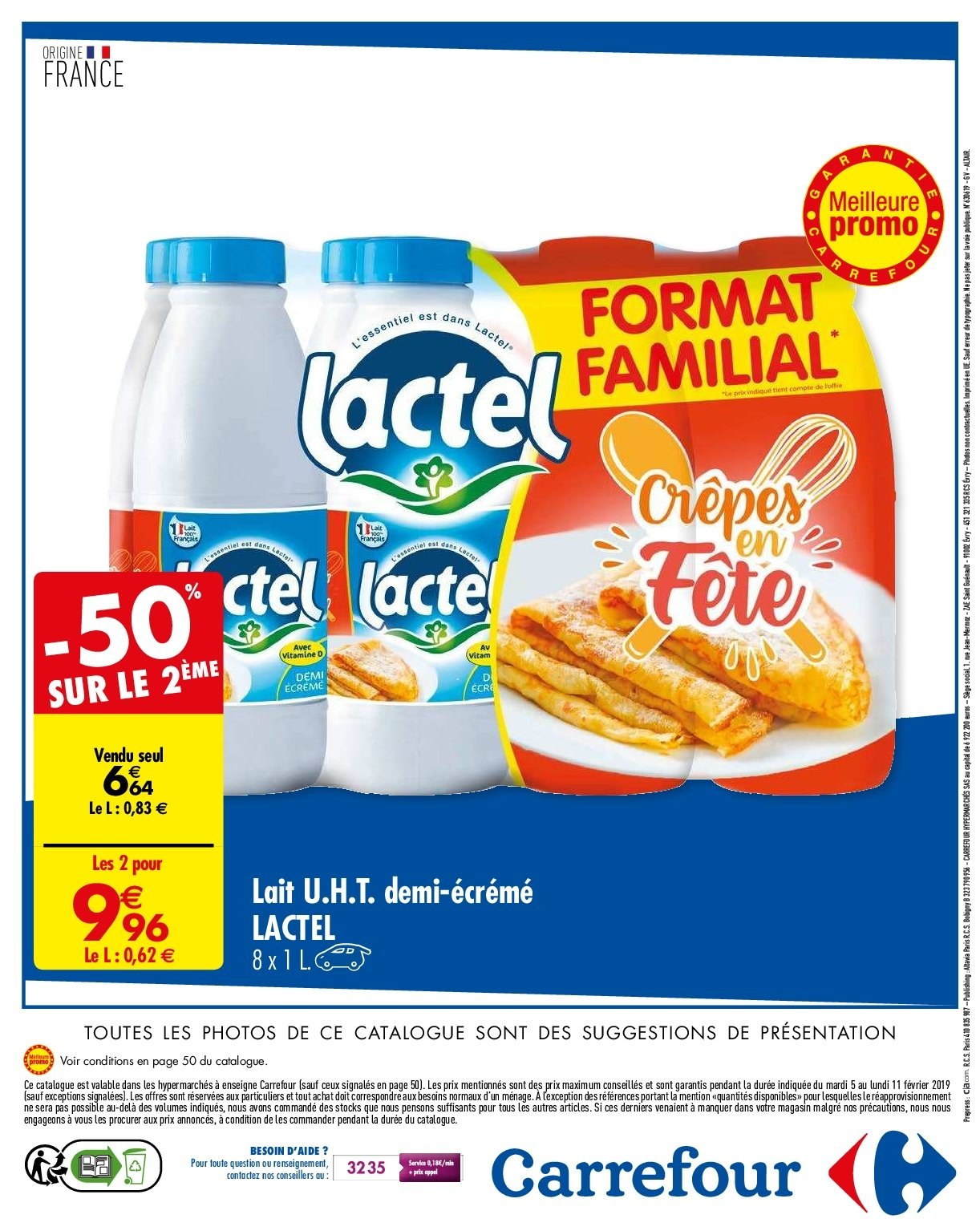 Catalogue Carrefour - 05.02.2019 - 11.02.2019. Page 56.