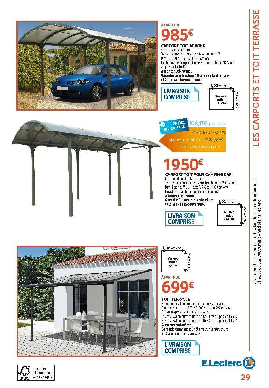 Catalogue E.Leclerc - 05.02.2019 - 31.12.2019. Page 29.