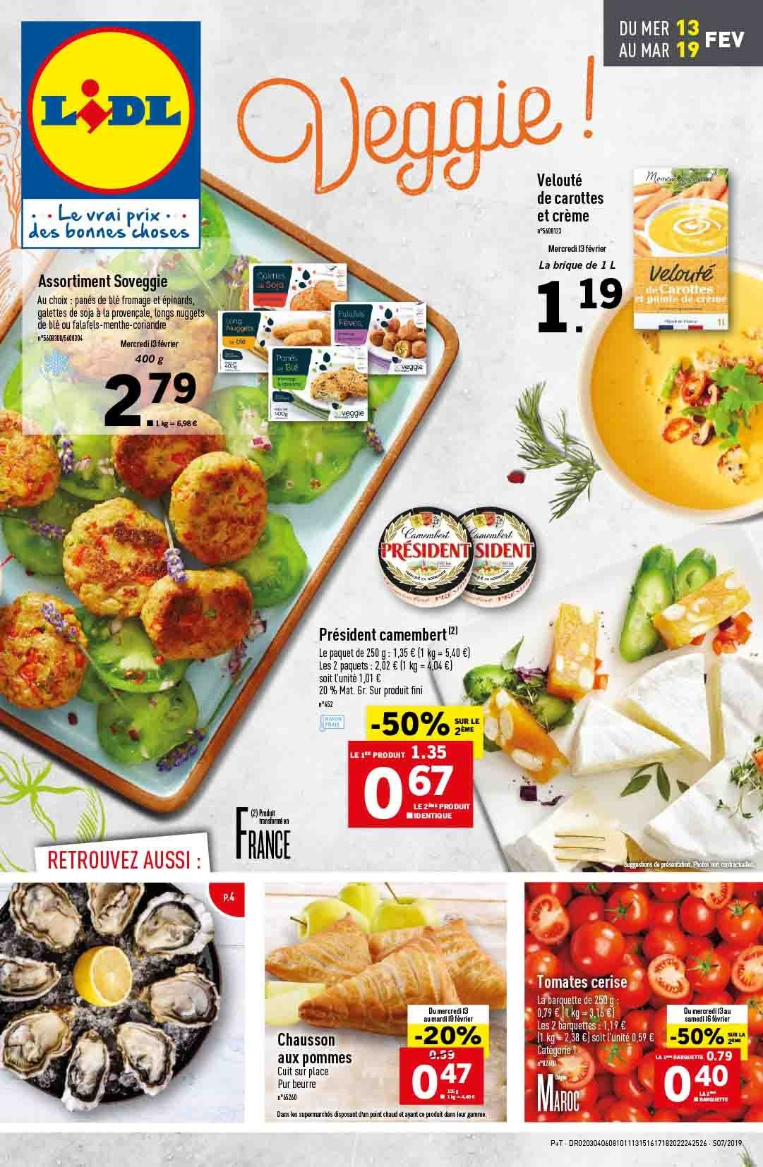 Catalogue Lidl - 13.02.2019 - 19.02.2019. Page 1.