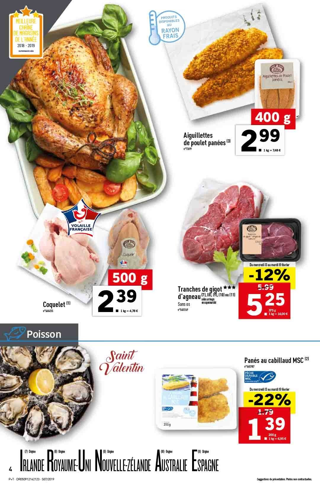 Catalogue Lidl - 13.02.2019 - 19.02.2019. Page 4.
