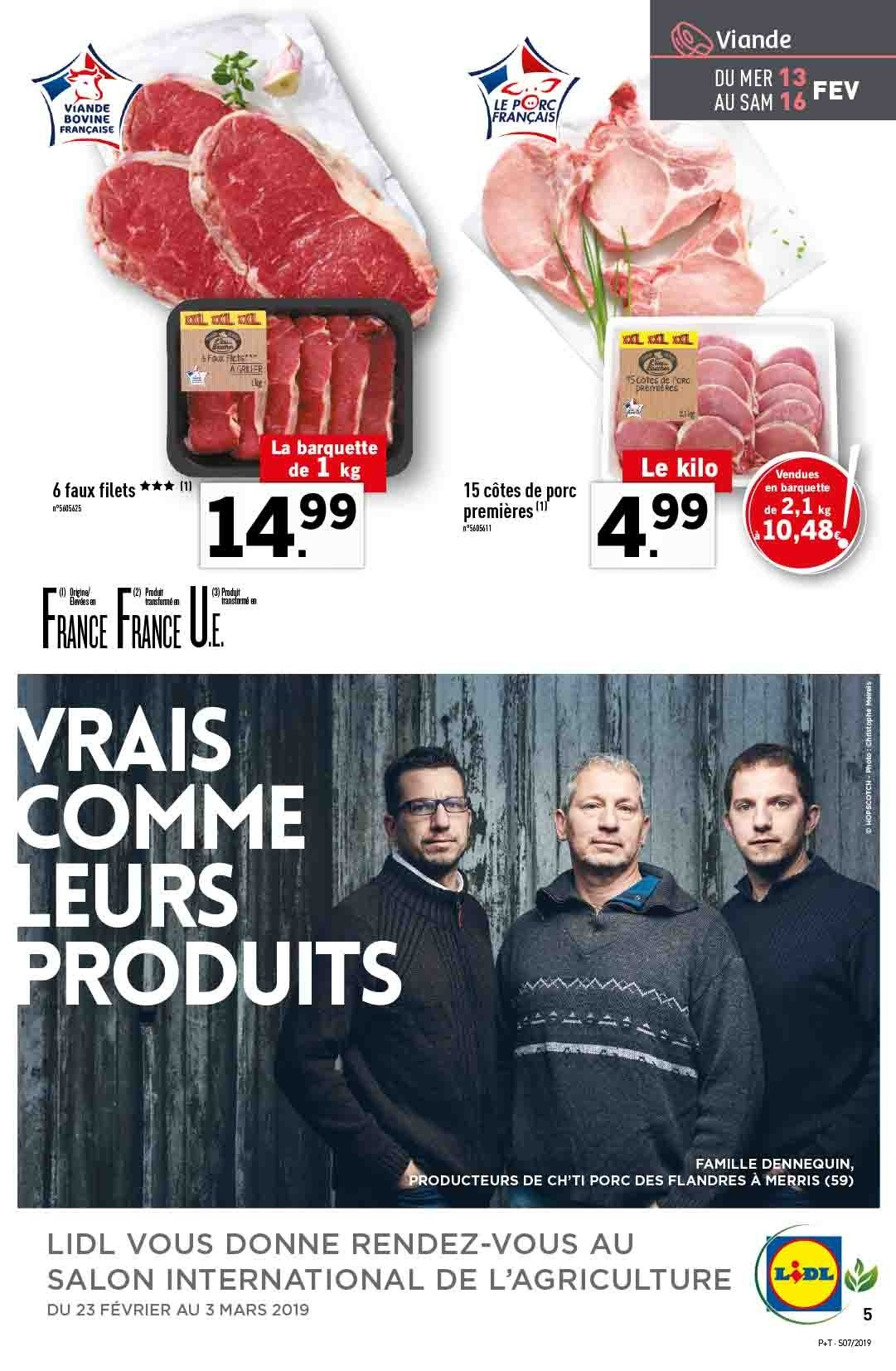 Catalogue Lidl - 13.02.2019 - 19.02.2019. Page 5.