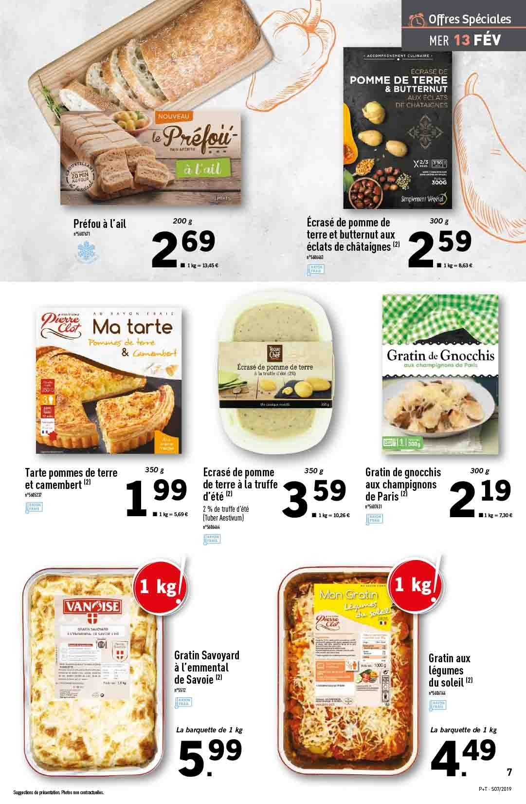 Catalogue Lidl - 13.02.2019 - 19.02.2019. Page 7.