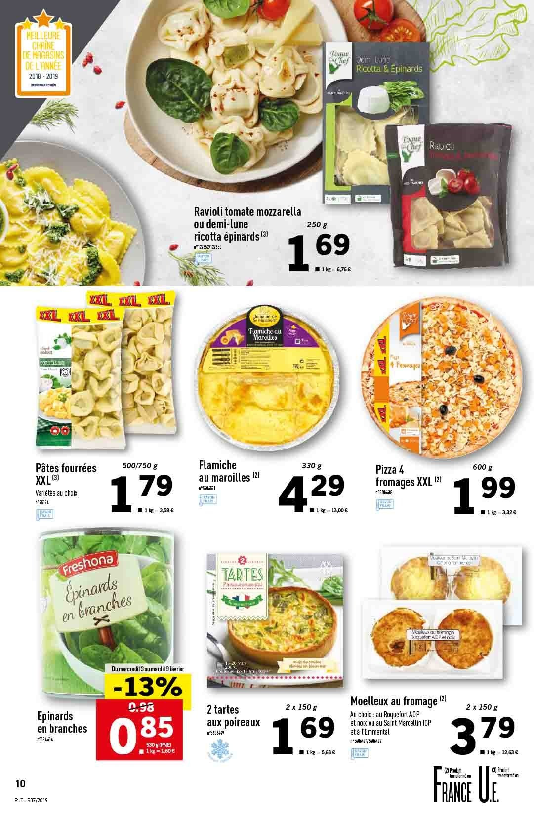 Catalogue Lidl - 13.02.2019 - 19.02.2019. Page 10.