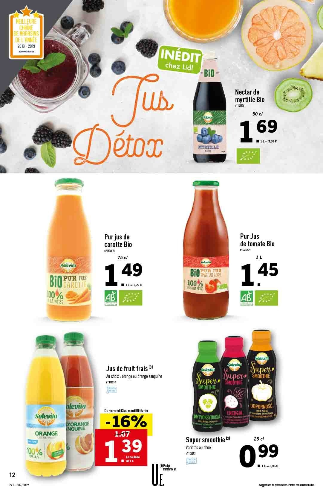 Catalogue Lidl - 13.02.2019 - 19.02.2019. Page 12.