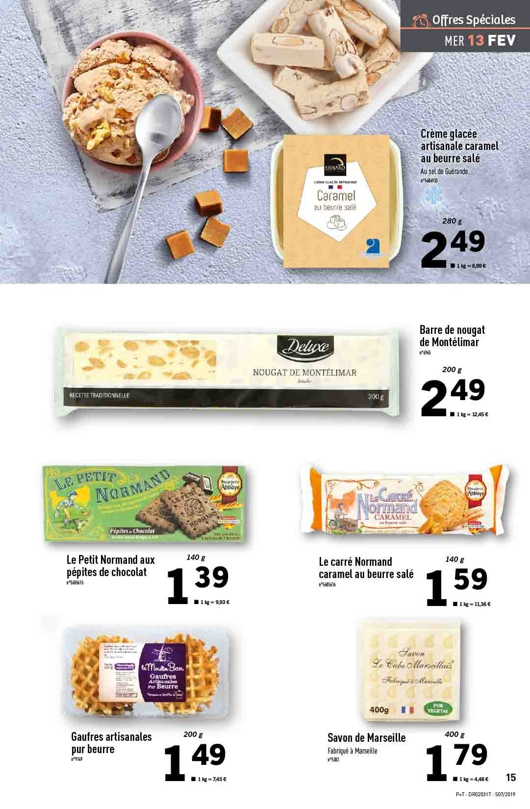 Catalogue Lidl - 13.02.2019 - 19.02.2019. Page 15.