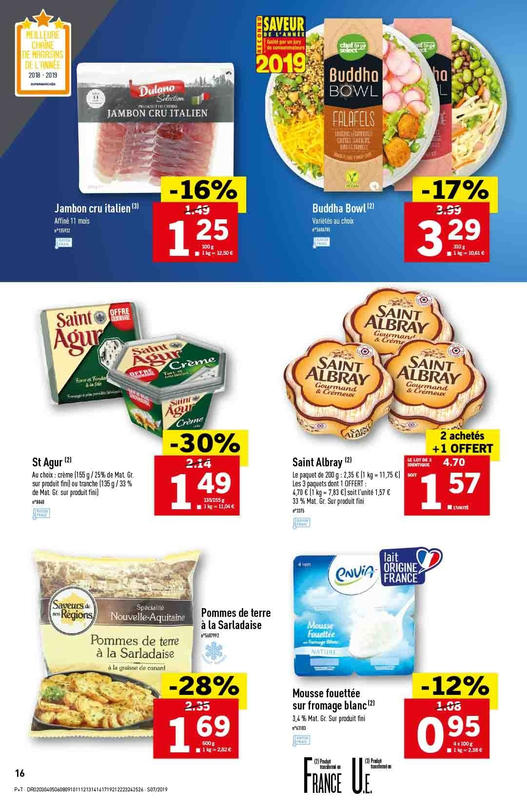 Catalogue Lidl - 13.02.2019 - 19.02.2019. Page 16.