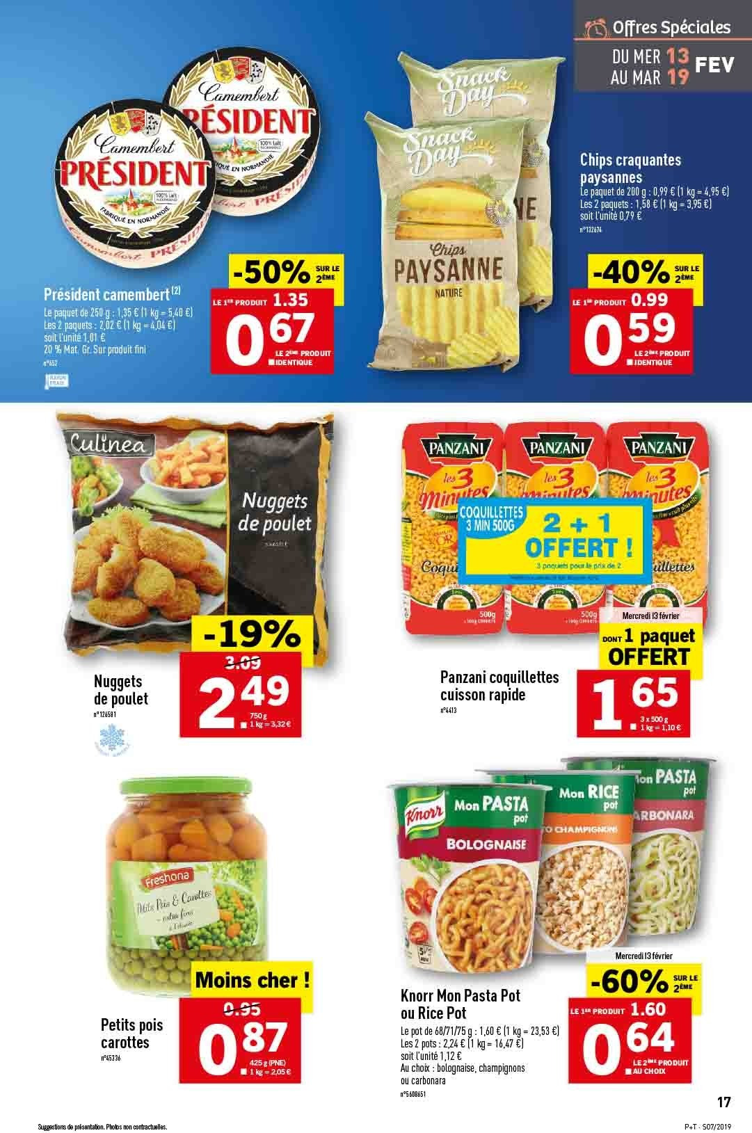 Catalogue Lidl - 13.02.2019 - 19.02.2019. Page 17.