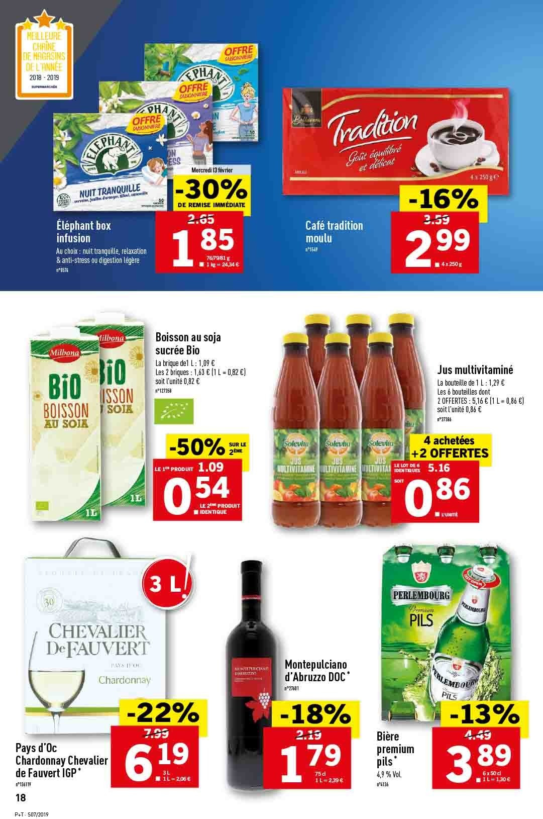 Catalogue Lidl - 13.02.2019 - 19.02.2019. Page 18.