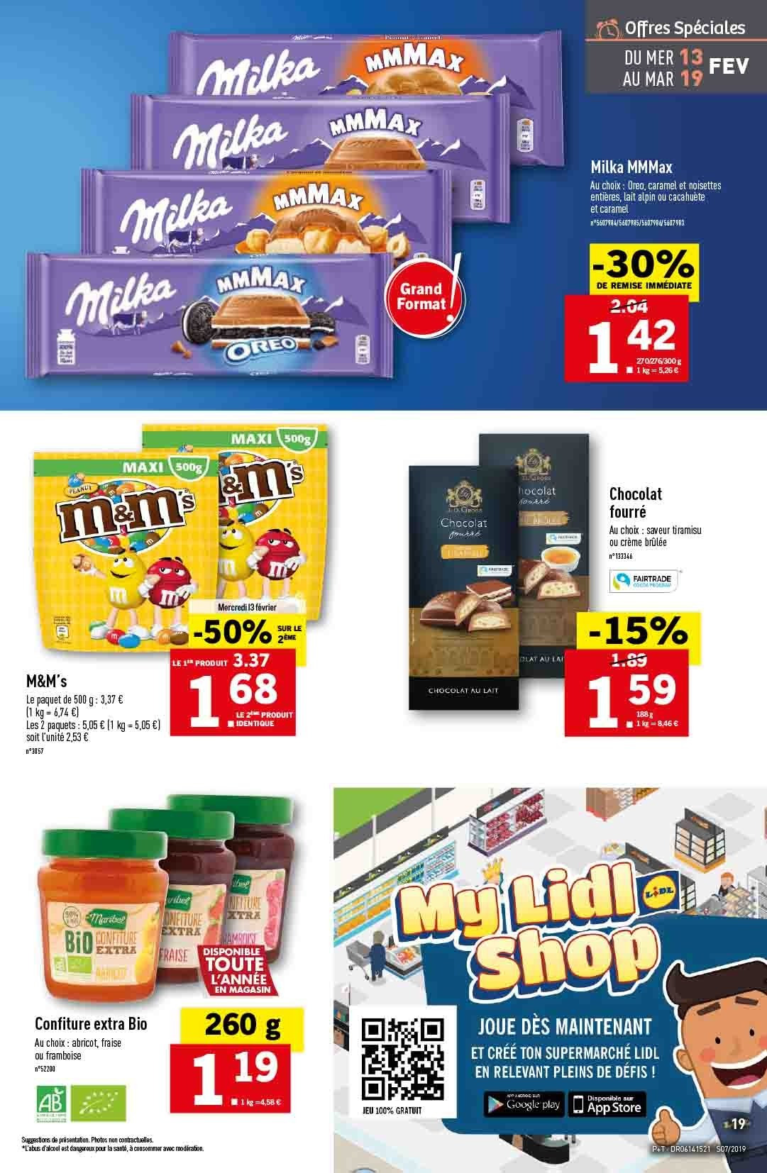 Catalogue Lidl - 13.02.2019 - 19.02.2019. Page 19.