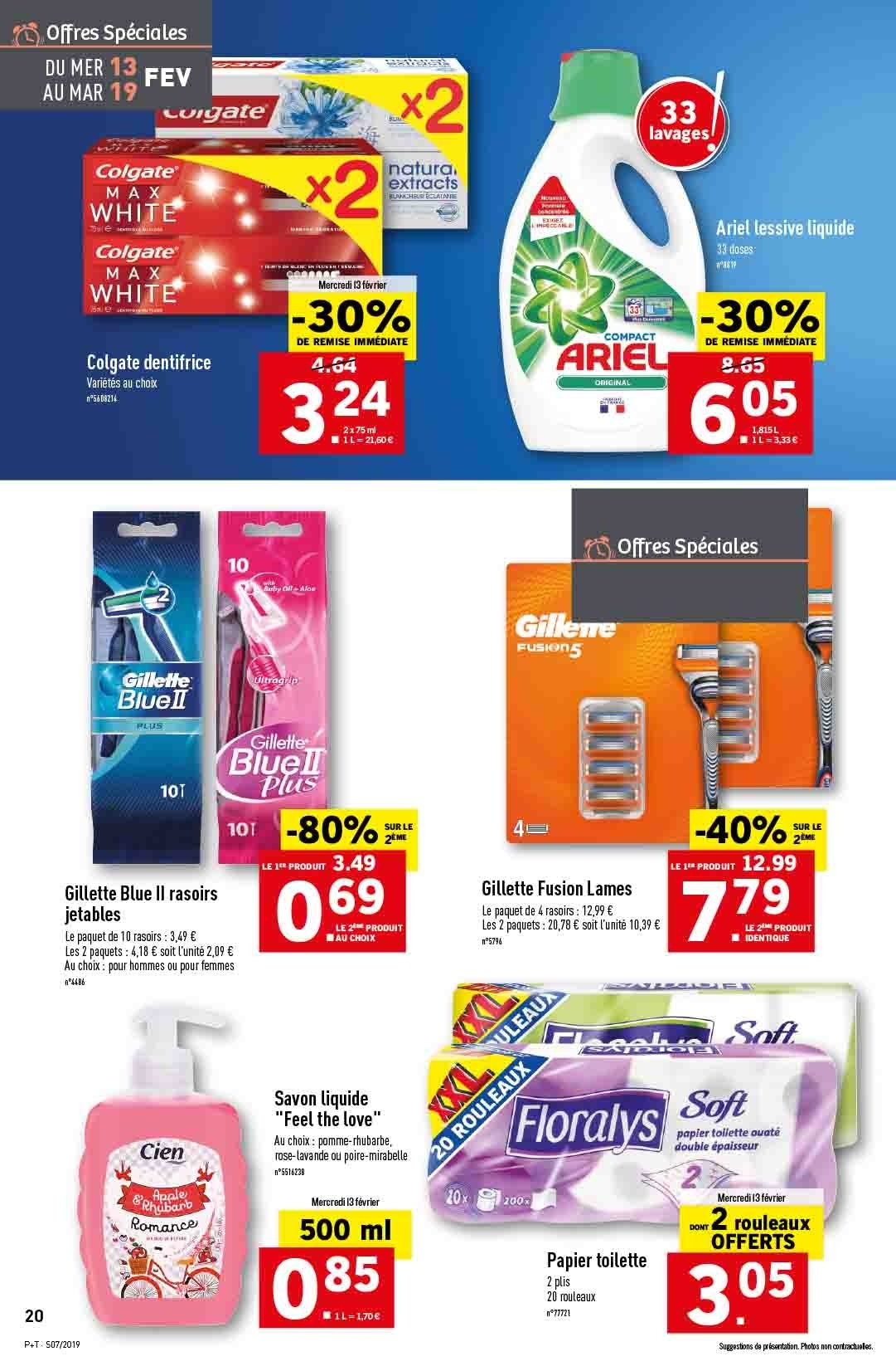 Catalogue Lidl - 13.02.2019 - 19.02.2019. Page 20.