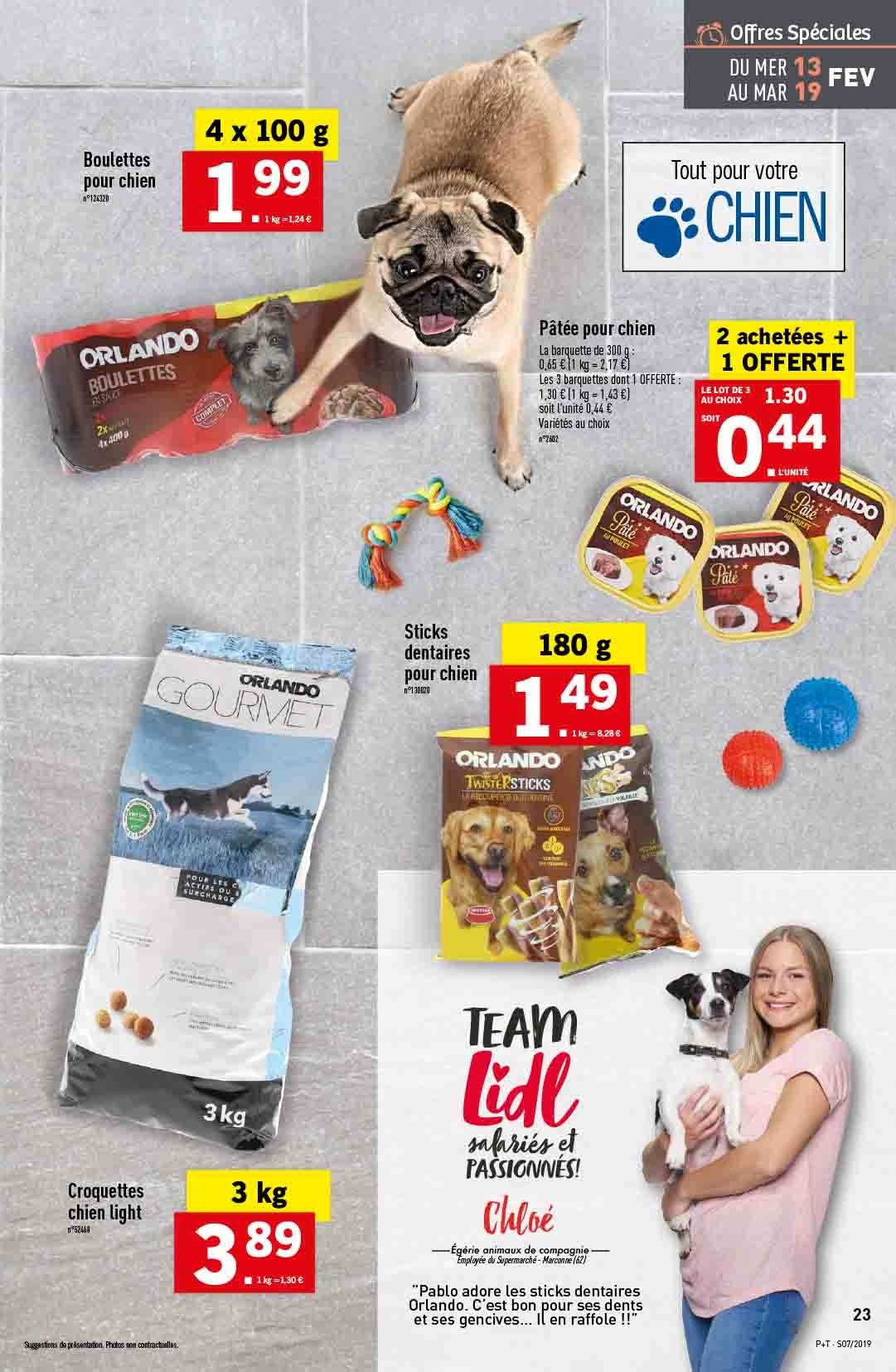 Catalogue Lidl - 13.02.2019 - 19.02.2019. Page 23.