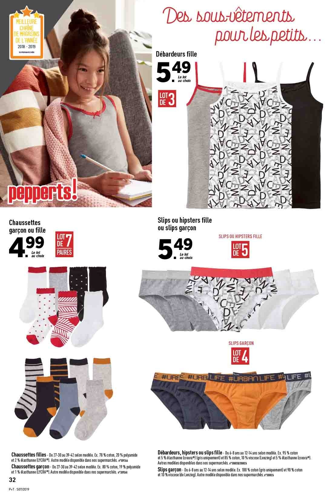 Catalogue Lidl - 13.02.2019 - 19.02.2019. Page 32.