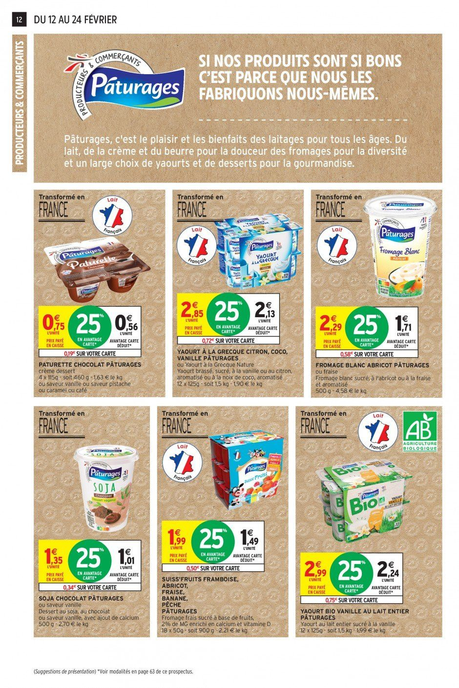 Catalogue Intermarché - 12.02.2019 - 24.02.2019. Page 12.