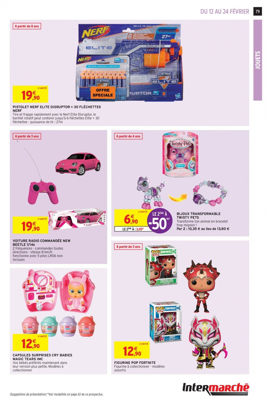 Catalogue Intermarché - 12.02.2019 - 24.02.2019. Page 77.