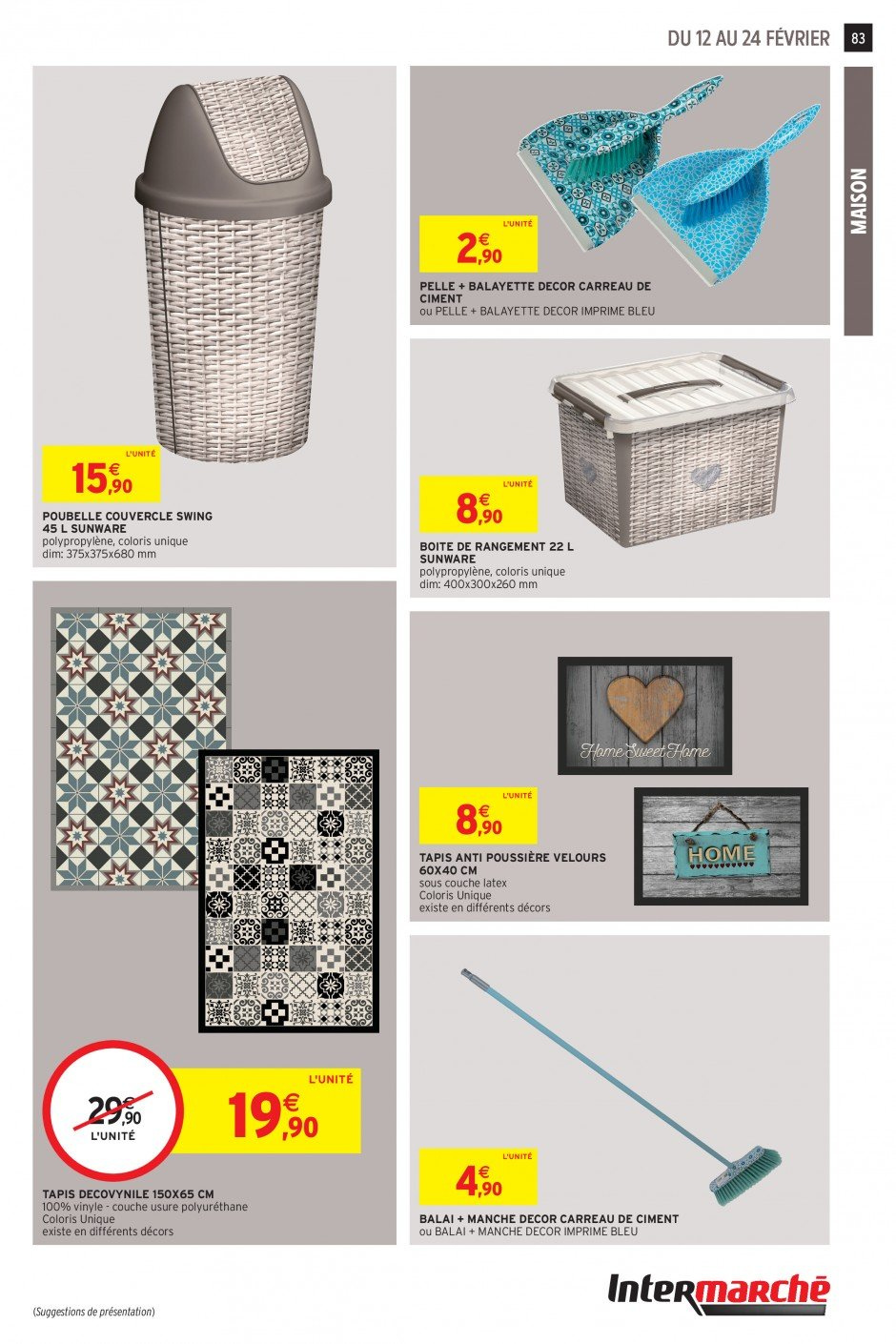 Catalogue Intermarché - 12.02.2019 - 24.02.2019. Page 81.
