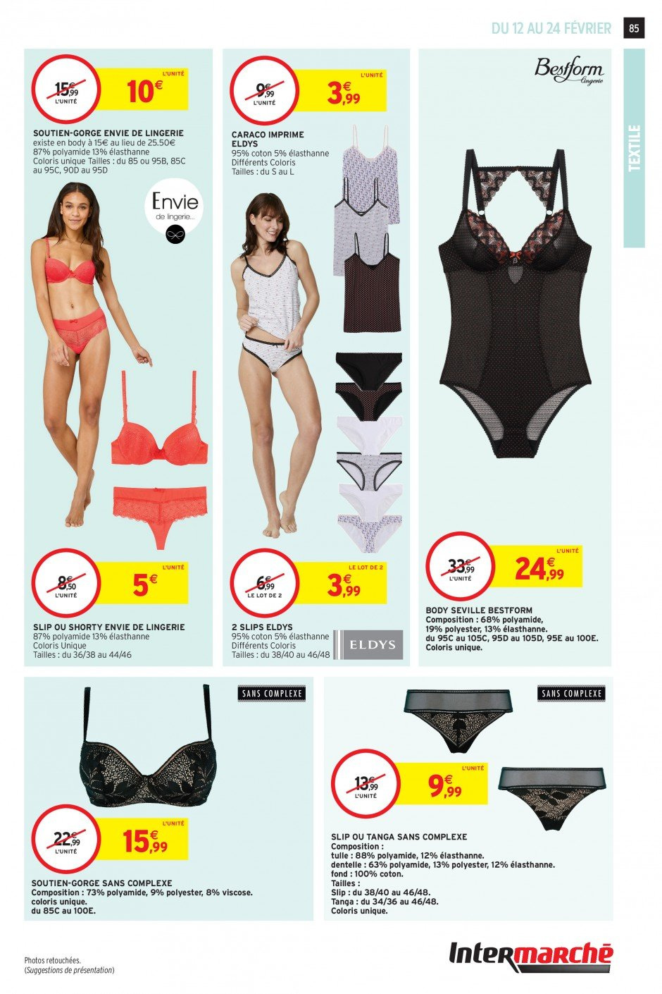 Catalogue Intermarché - 12.02.2019 - 24.02.2019. Page 83.