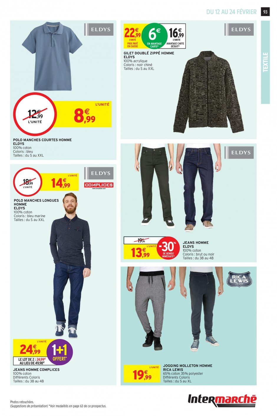 Catalogue Intermarché - 12.02.2019 - 24.02.2019. Page 91.