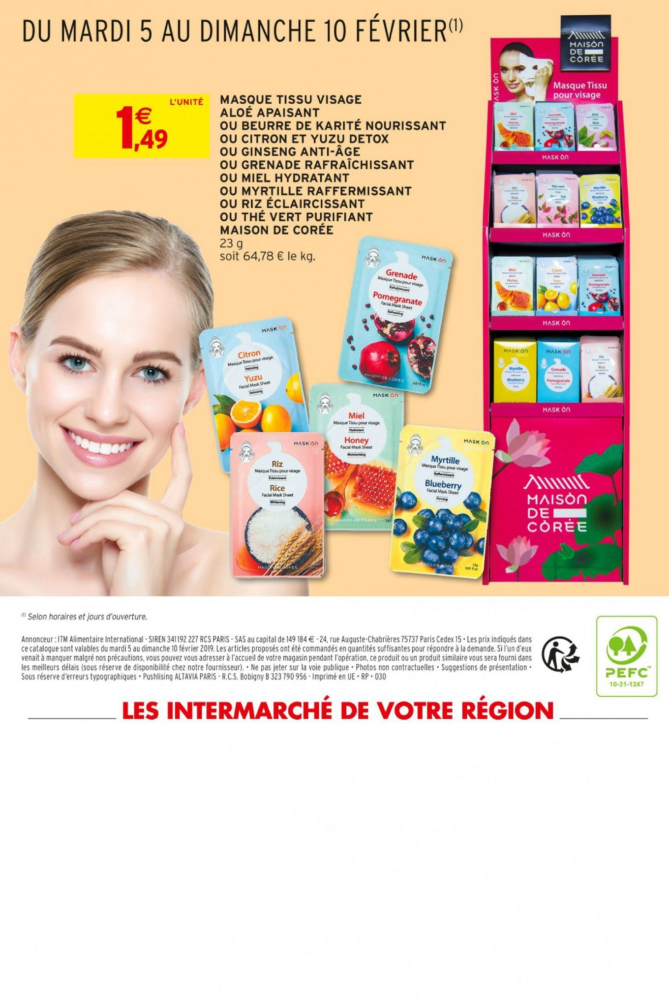 Catalogue Intermarché - 05.02.2019 - 10.02.2019. Page 16.