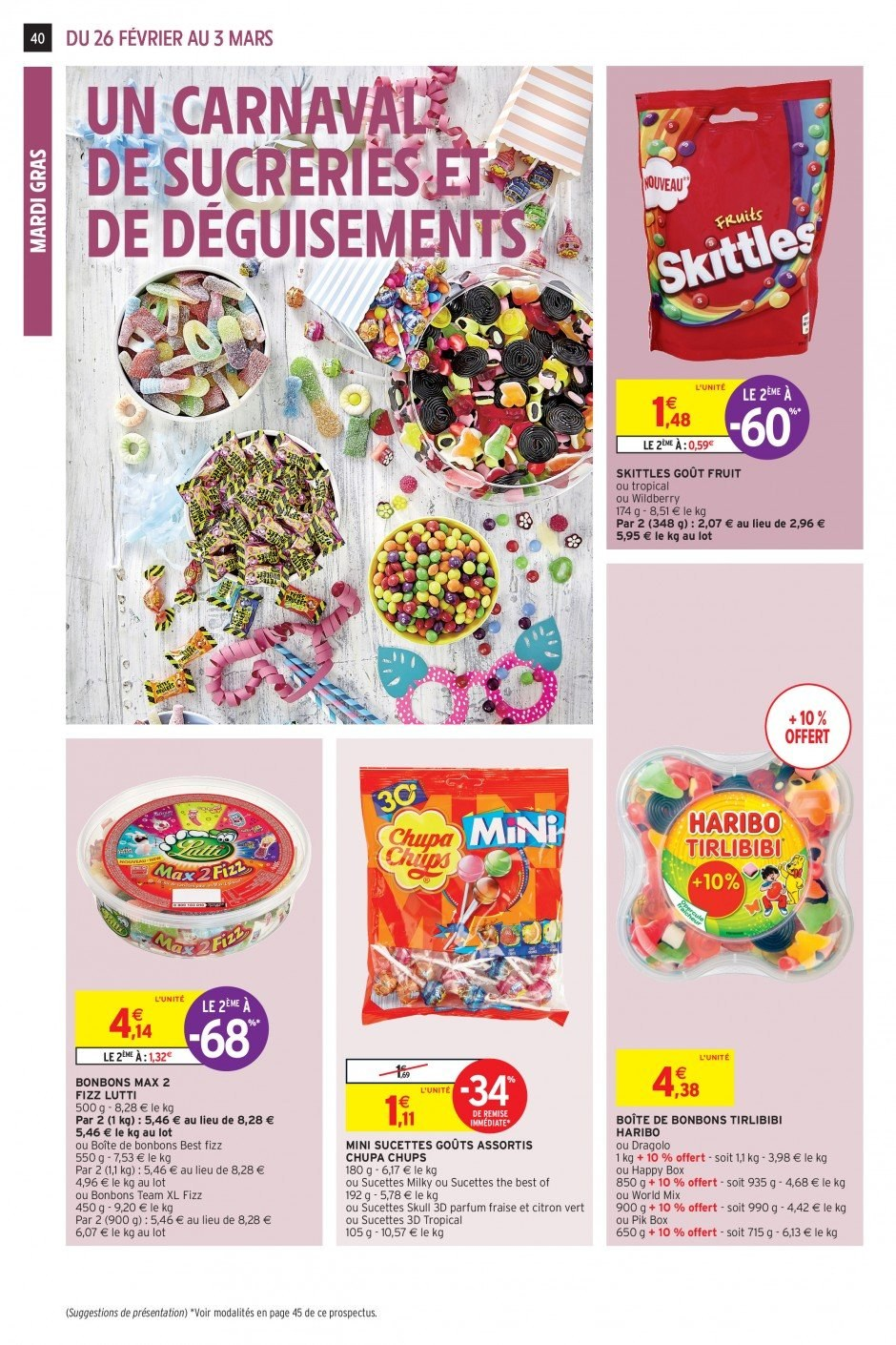 Catalogue Intermarché - 26.02.2019 - 03.03.2019. Page 38.