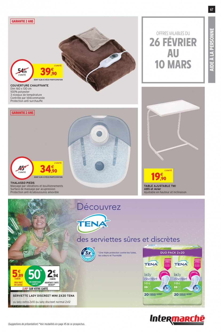 Catalogue Intermarché - 26.02.2019 - 03.03.2019. Page 65.
