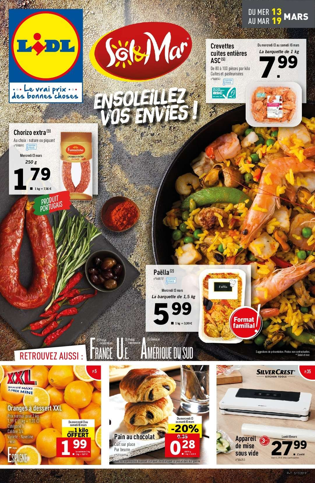 Catalogue Lidl - 13.03.2019 - 19.03.2019. Page 1.