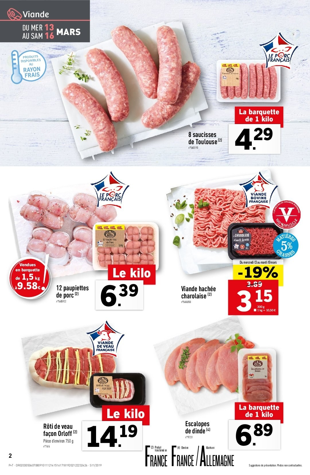 Catalogue Lidl - 13.03.2019 - 19.03.2019. Page 2.