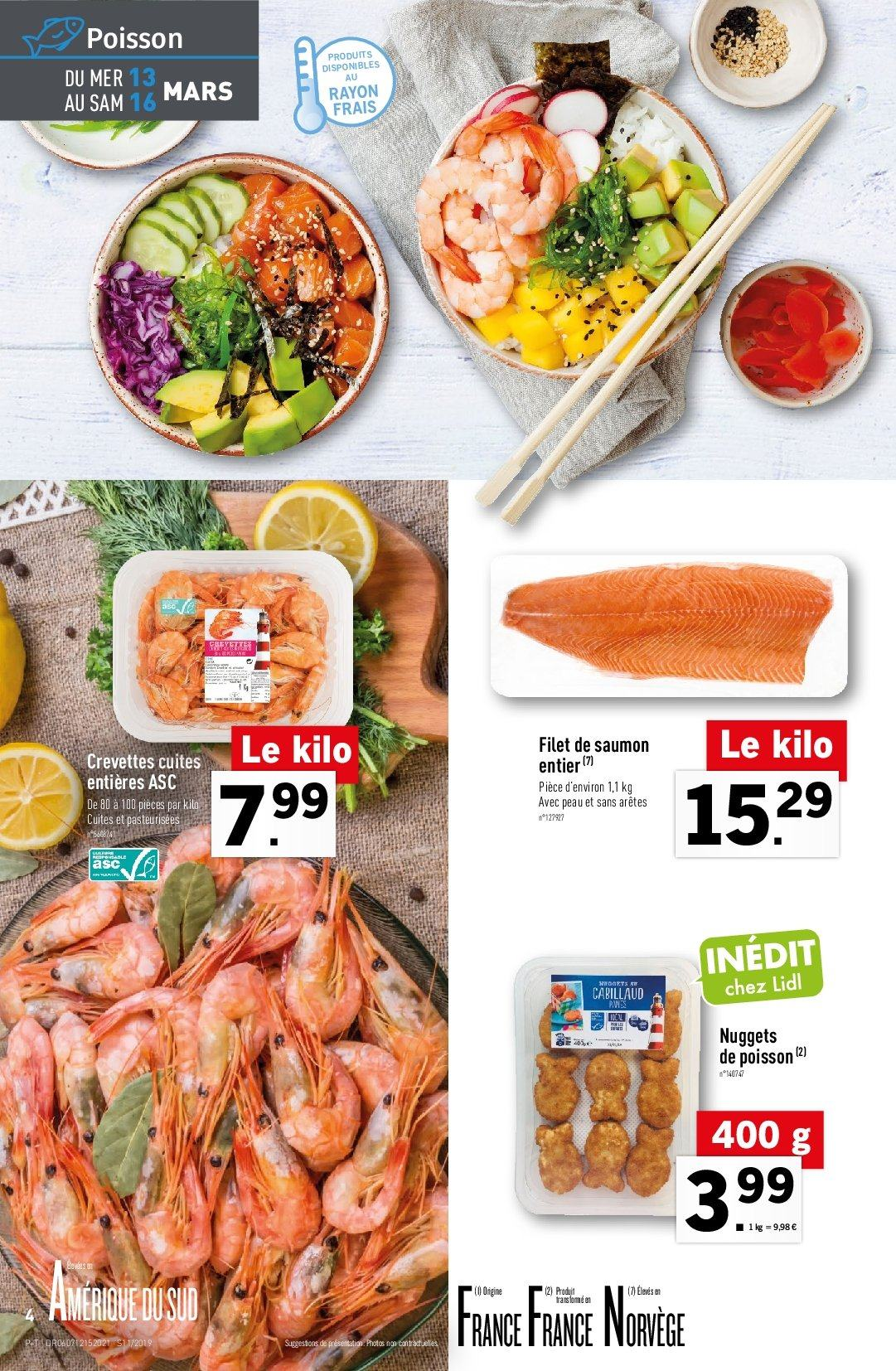 Catalogue Lidl - 13.03.2019 - 19.03.2019. Page 4.