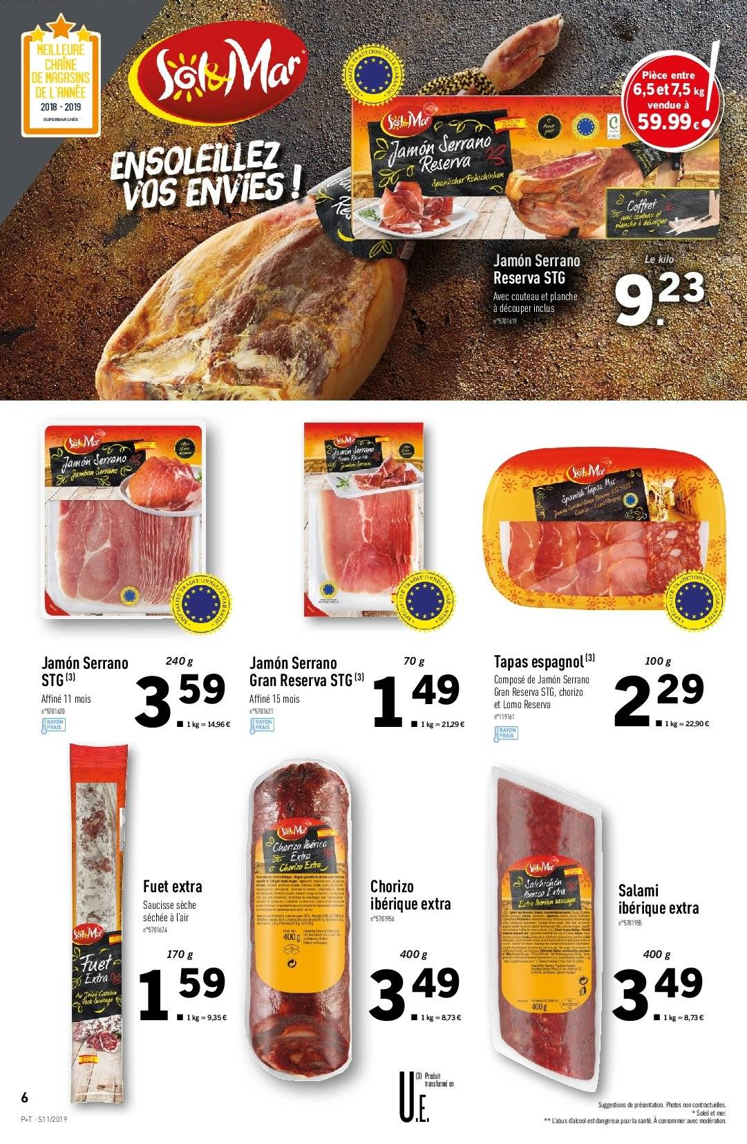 Catalogue Lidl - 13.03.2019 - 19.03.2019. Page 6.