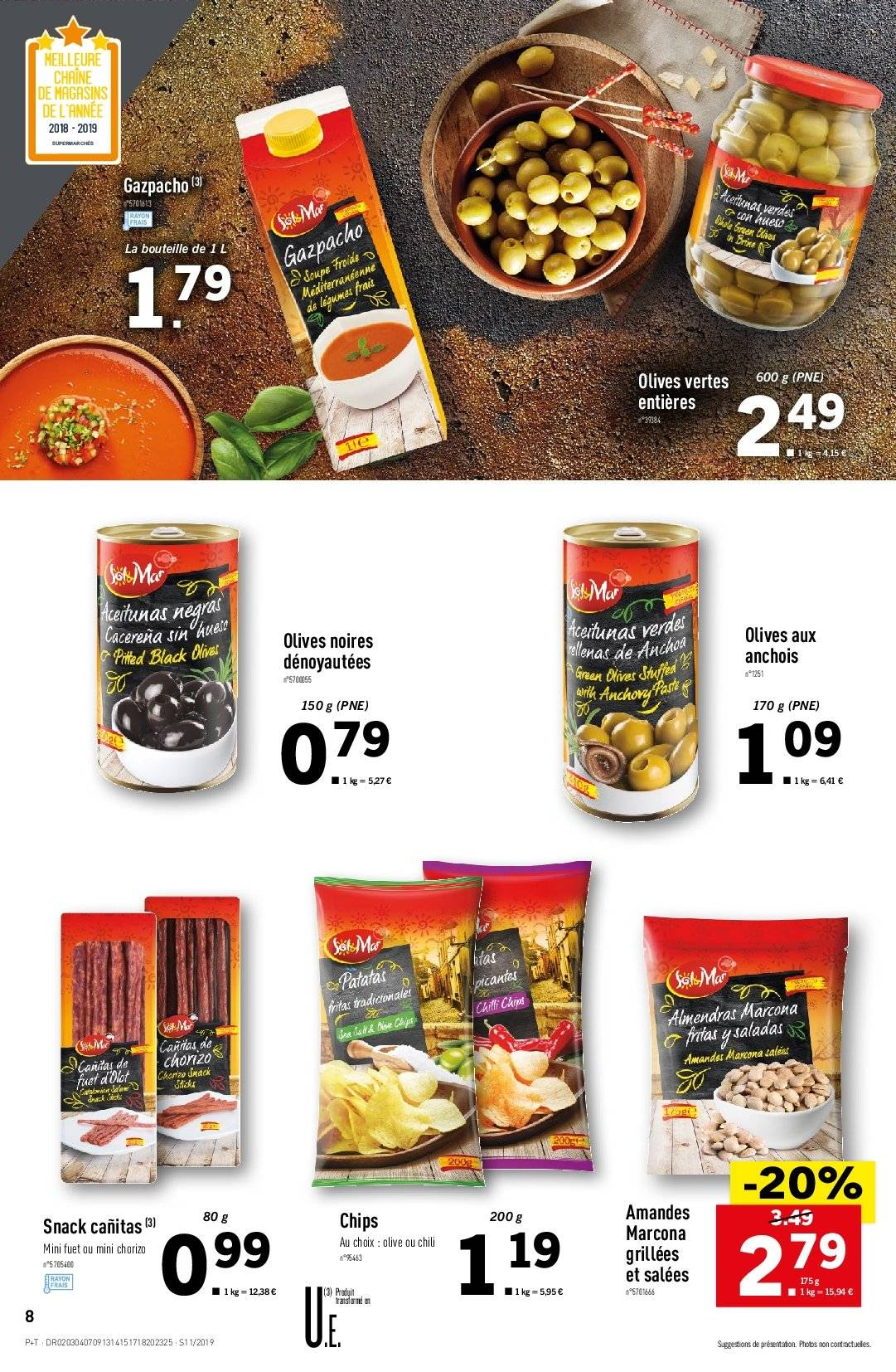 Catalogue Lidl - 13.03.2019 - 19.03.2019. Page 8.